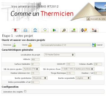 Comme Un Thermicien RT2012