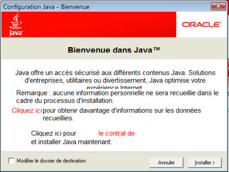 installation de Java